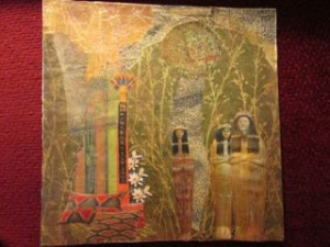 """Treasured"" collage work, by Sherida Wysocki"