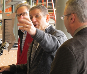 Lansing Mayor Virg Bernero shares his vision of downtown Lansing.