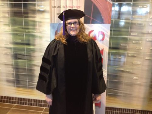 Gradution day for Angela Easterday, former Western Michigan University Cooley Law School Innocence Project intern, now an assistant prosecuting attorney