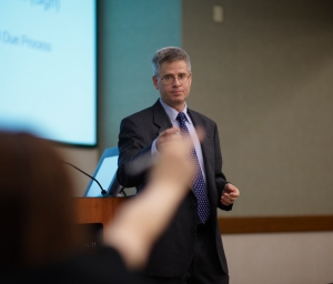 Western Michigan University Cooley Law School Professor Devin Schindler