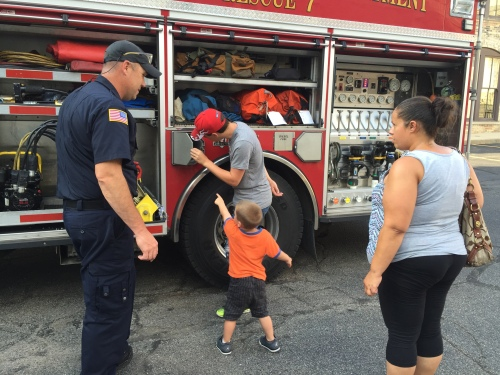 WMU-Cooley Law School's Children's Law Society, in partnership with the Grand Rapids Police Department and the Grand Rapids Fire Department, hosted a Summer Safety Seminar for parents and children from the Grand Rapids community.