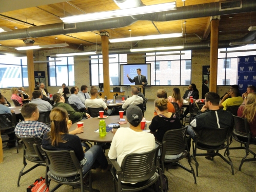 In Grand Rapids, a crowd gathered to hear constitutional law expert Matt Nelson talk about the proper role of an un-elected court in a government dedicated to self-rule.