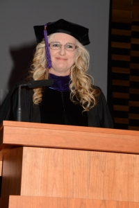 Aug. 15 Tampa Bay campus graduation valedictory speaker Debra Steele.