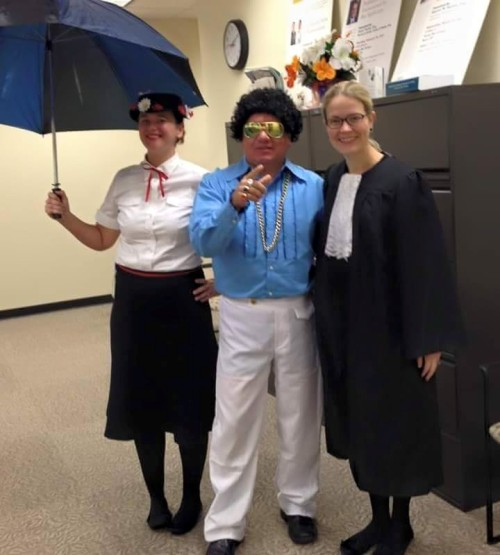 You are in big trouble, Elvis, with Mary Poppins and Ruth Bader Ginsburg presiding over your jurisdiction.