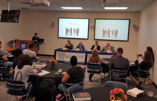 Winning Edge Mentor Panel with WMU-Cooley law students