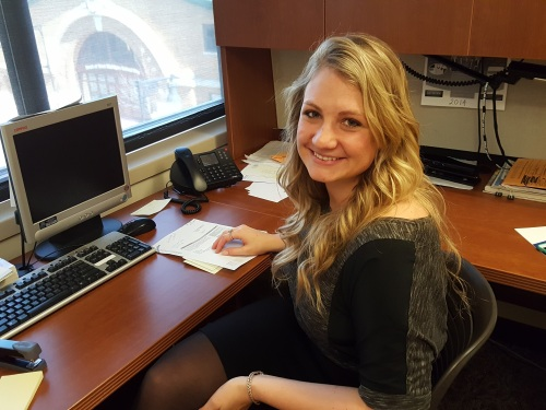 WMU-Cooley Law School student Bailey Vos