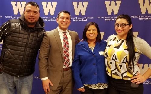 Inspiring Hispanic-Latino entrepreneurs join Varnum partner Luis Avila.