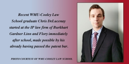 WMU-Cooley student Chris DeLucenay