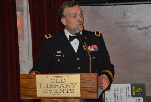 On April 1, Brigadier General (ret) and WMU-Cooley Law School Associate Dean and Professor Michael C.H. McDaniel was inducted into the ROTC Hall of Fame at his alma mater St. Bonaventure University.