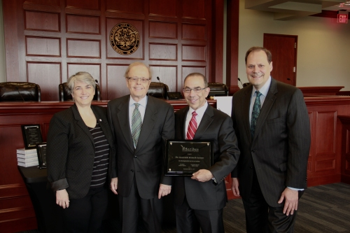 Scribes - The American Society of Legal Writers - Honors WMU-Cooley Professor Joseph Kimble