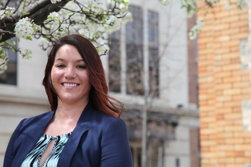WMU-Cooley graduate Tanya Gibbs