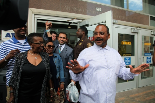 LeDura Watkins was released after serving 42 years for a murder he did not commit.