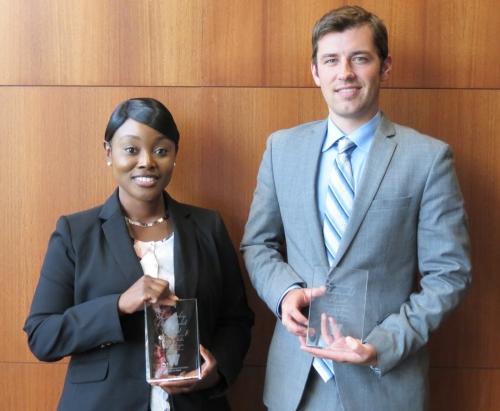 Leadership Award winners