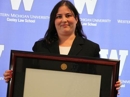 Award winner Luciana Viramontes